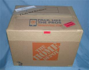 Moving and Storage Company mystery box lot marked