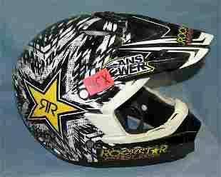 Answer Dot rock star energy drink racing helmet