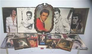 Large collection of Elvis Presley memorabilia