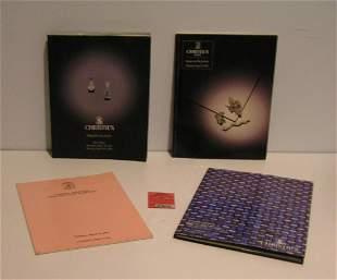 Gold/silver/platinum/diamond/prec. stones catalogs