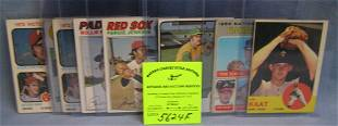 Group of ten all star pitchers baseball cards