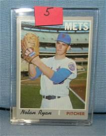 Vintage 1970 Nolan Ryan all star baseball card
