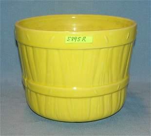Vintage brown stein a McCoy art pottery planter