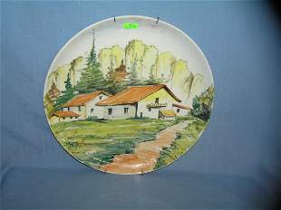 Large Porcelain wall charger