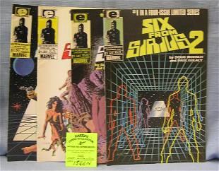 Six from Sirius 2 comic books