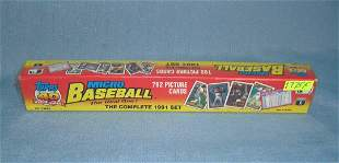 1991 Topps factory sealed Micro baseball card set
