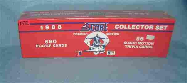 1988 Score factory sealed baseball card set