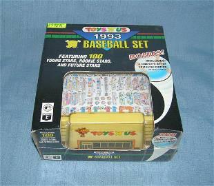 1993 Toys R Us baseball card set