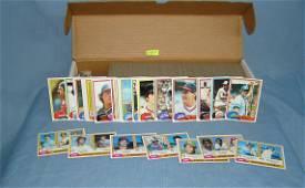 1981 Topps near complete baseball card set