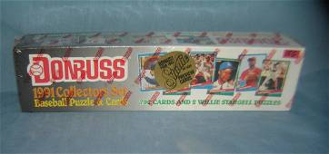 1991 Donruss factory sealed baseball card set