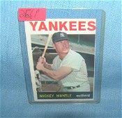 Mickey Mantle 1964 Topps baseball card
