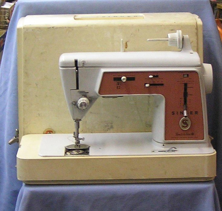 Singer Touch and Sew sewing machine