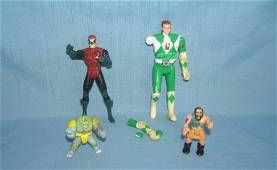 Group of vintage action figures