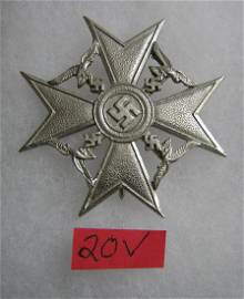 German Spanish Cross without sword badge WWII style