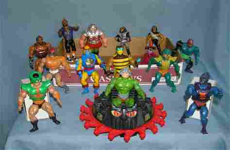 Estate box full of Masters of the Universe, He Man