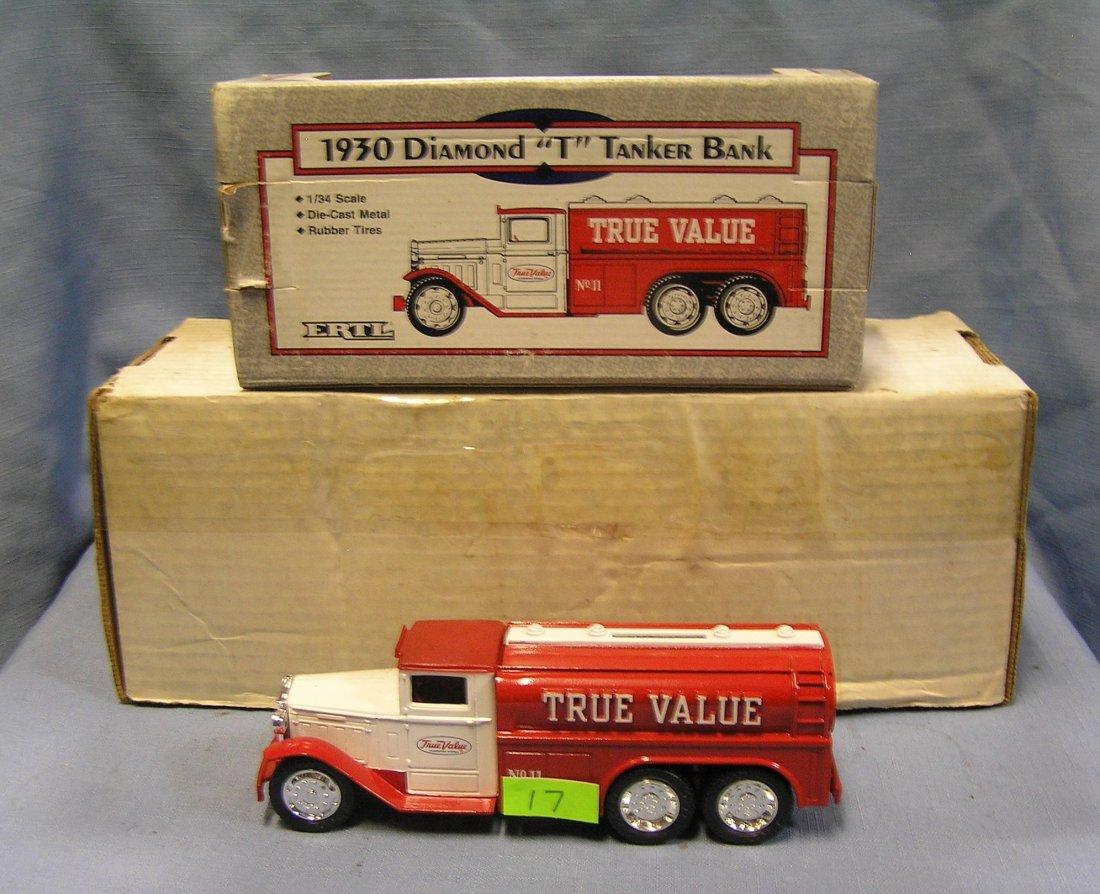 Vintage True Value all cast metal advertising  delivery