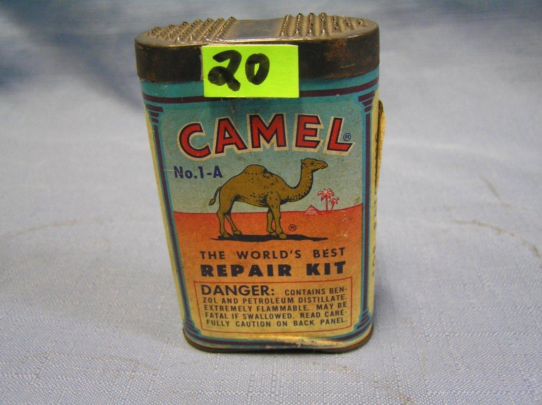 Vintage Camel tire repair kit