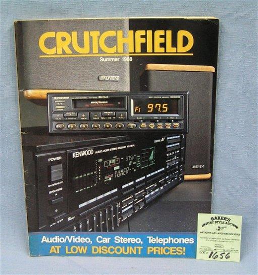 Vintage Crutchfield stereo and electronics catalog - Mar 17
