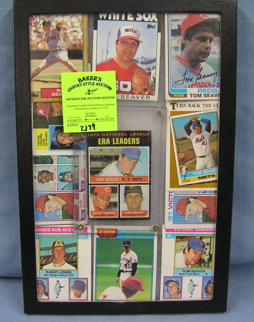 Collection of vintage Tom Seaver baseball cards