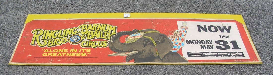 Vintage Ringling Bros. and Barnum & Bailey circus