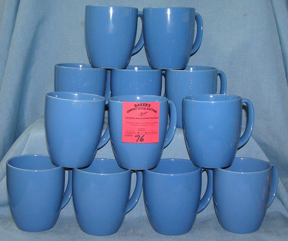 Correlle ware stoneware coffee cups