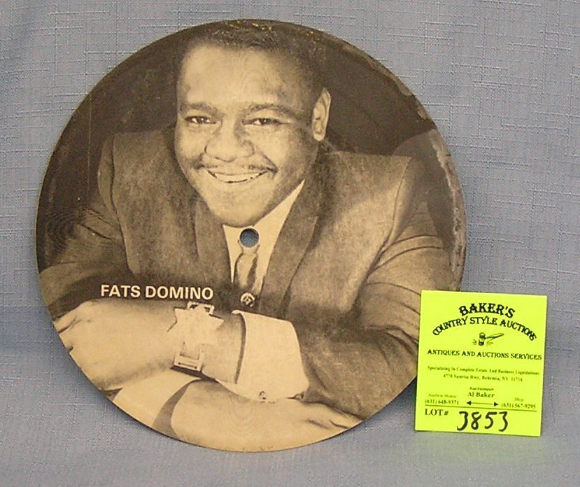Vintage Fats Domino 45rpm picture sleeve record