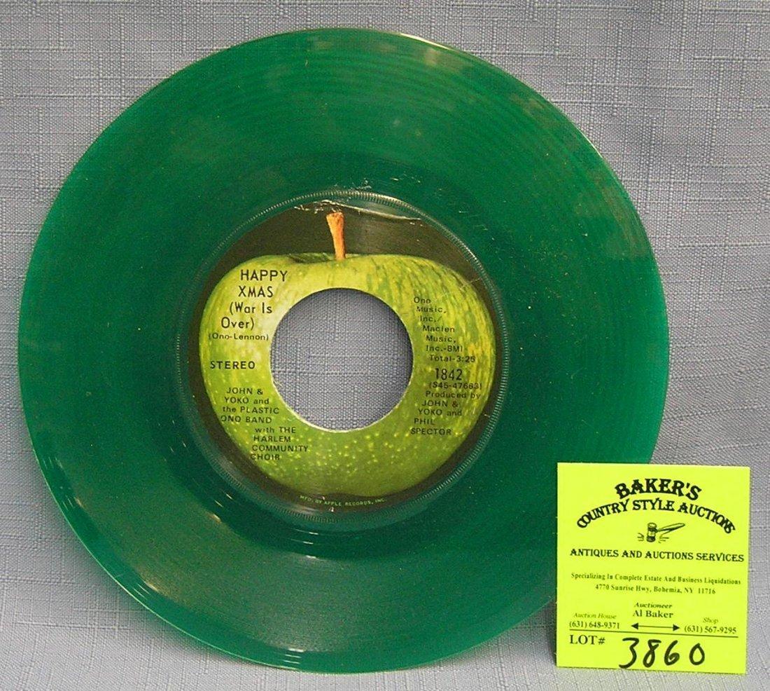 Vintage John and Yoko and the Plastic Ono Band record