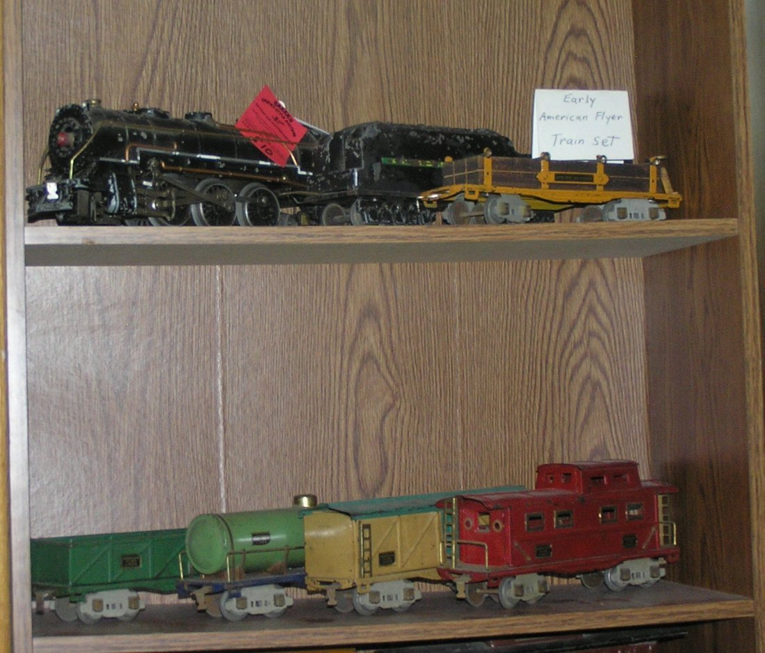Early American Flyer all cast metal Hudson engine and