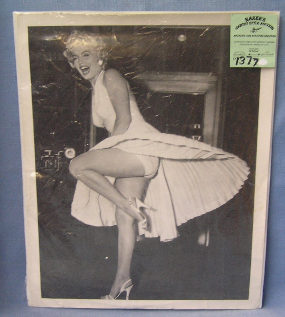 Vintage original Marilyn Monroe publicity photograph