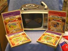GE Show  Tell radio phonograph  viewer system