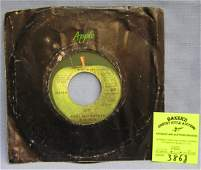 Vintage Paul McCartney and Wings record album  on Apple