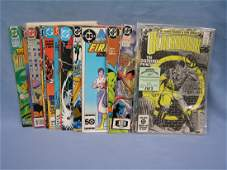 Large box of vintage DC comic books