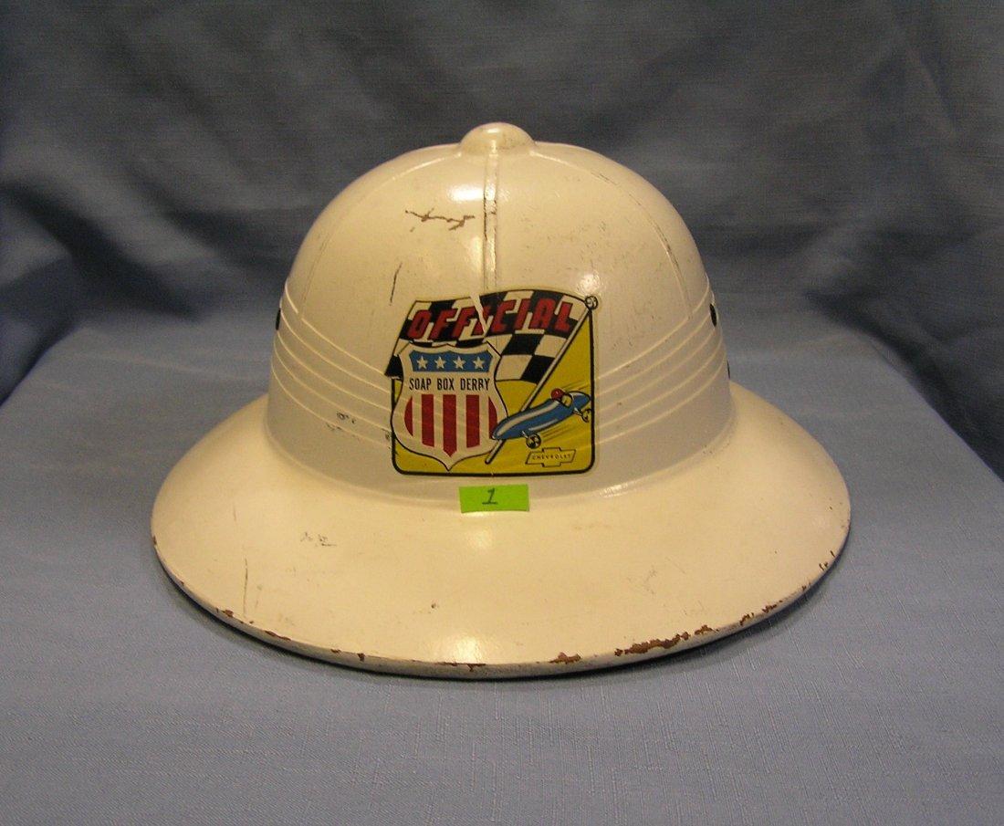 Official Soap Box Derby helmet