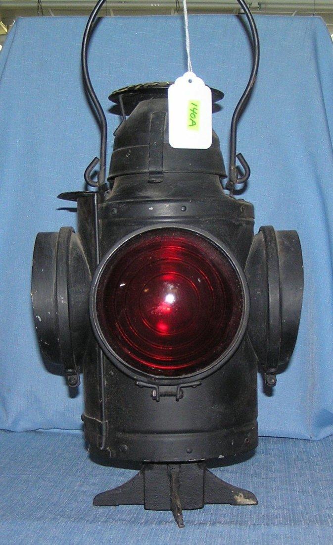St. Louis RR signal lantern by Handlan Co.