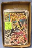 Marvel New Mutants super hero comic books