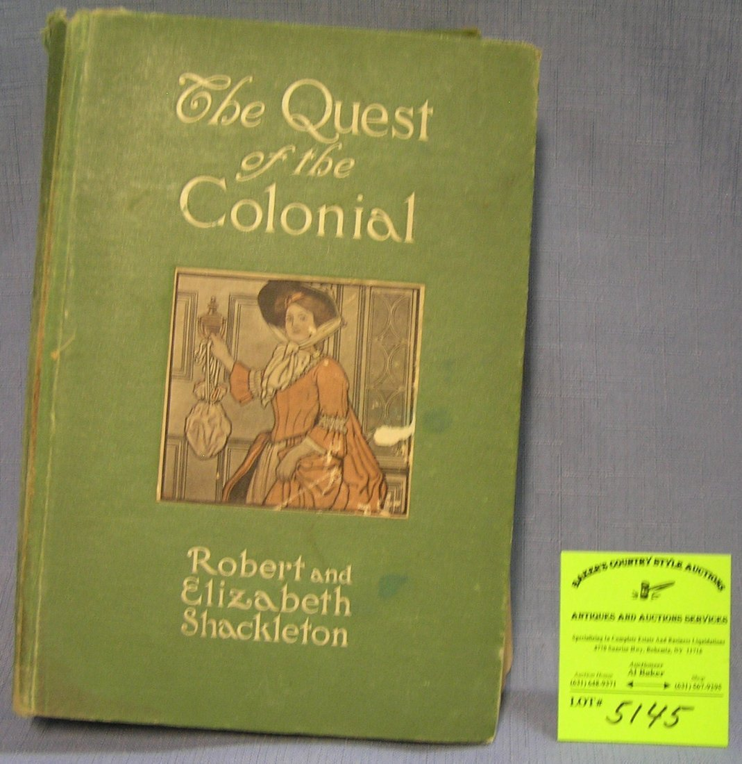 The Quest of the Colonel by Robert and Elizabeth