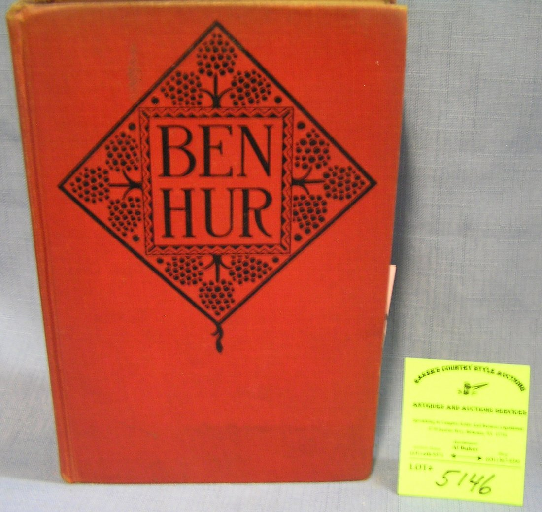 Vintage Ben Hur book by Lou Wallace