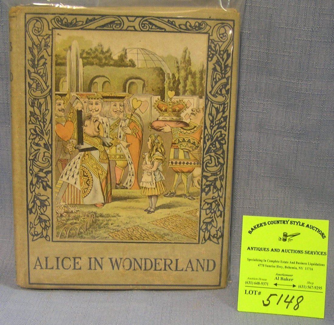 Early Alice in Wonderland first edition