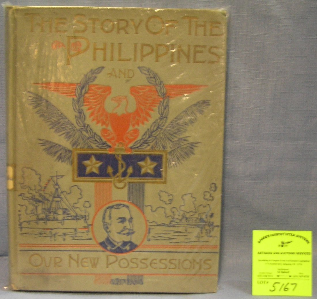 The Story of the Philippines salesman sample edition