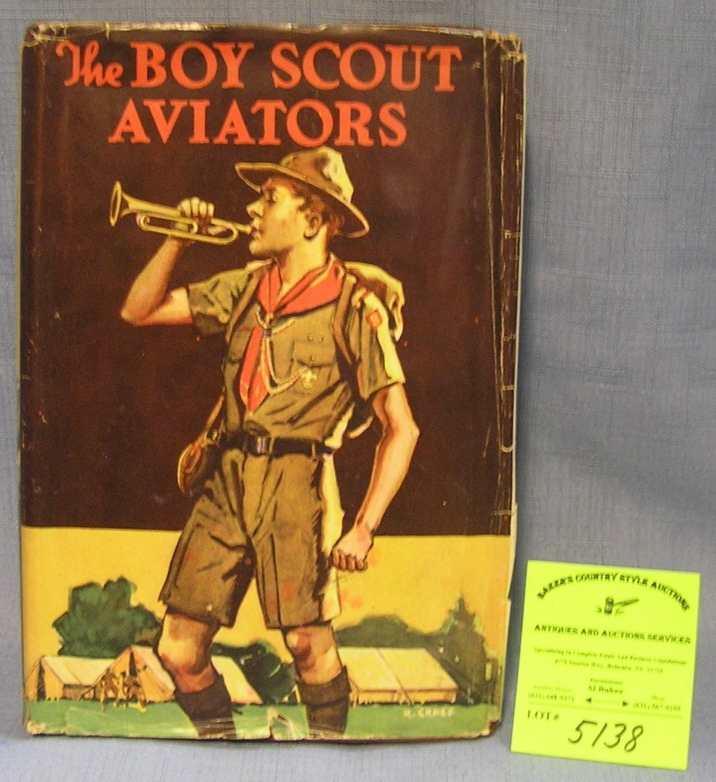 The Boy Scout aviators book with original dust jacket