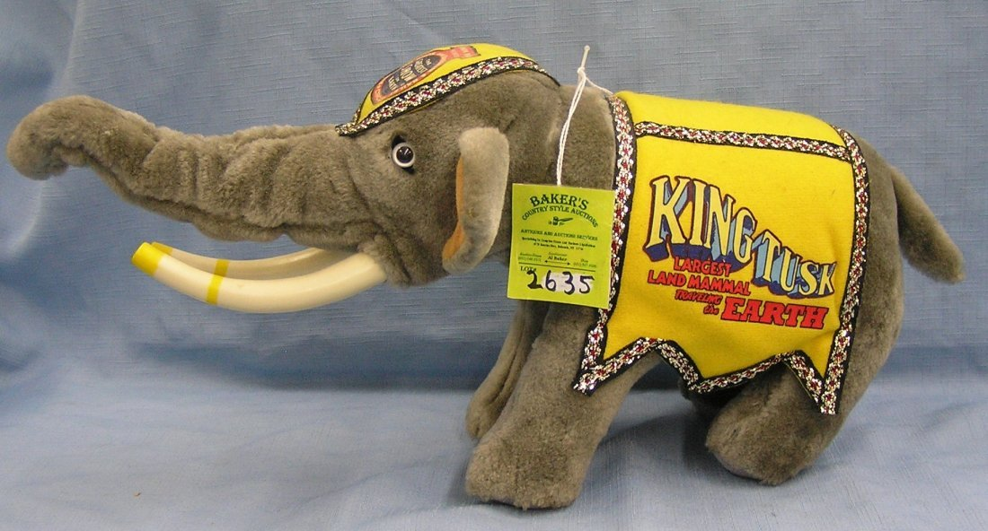 King Tusk from the Kenneth Feld Ringling Bros. and