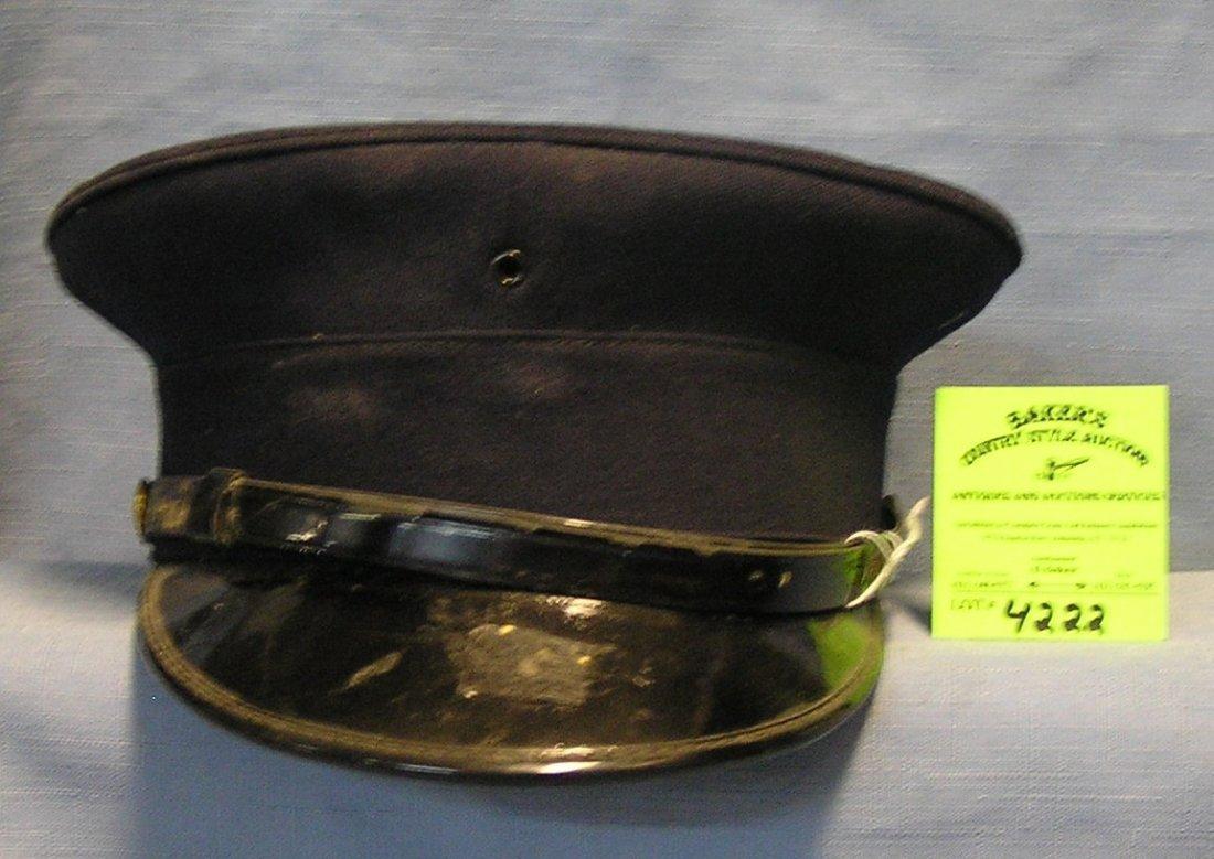 Vintage fire chiefs cap