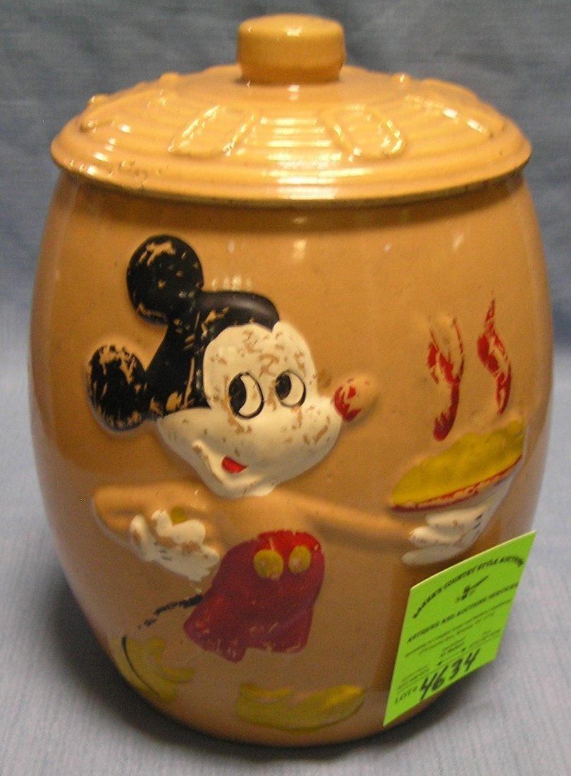 Disney's Mickey Mouse cookie jar by Walt Disney Prod.