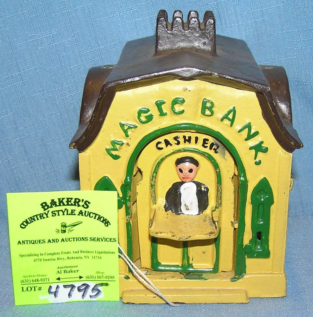 Magic Bank mechanical bank