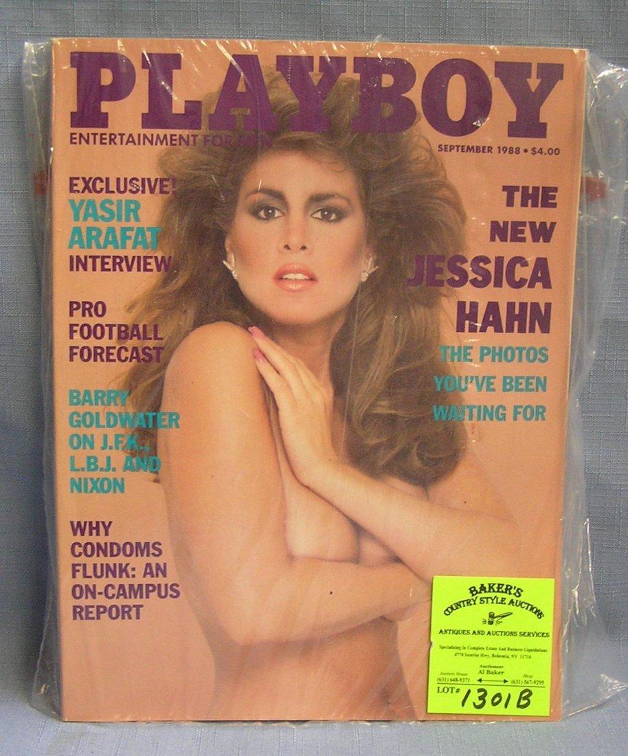 Vintage Playboy magazine featuring Jessica Hahn