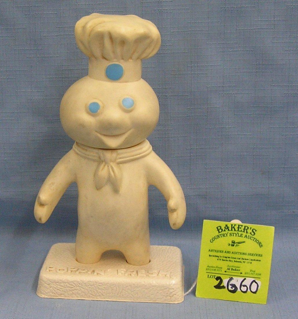 Vintage poppin' fresh Pillsbury Dough Boy advertising