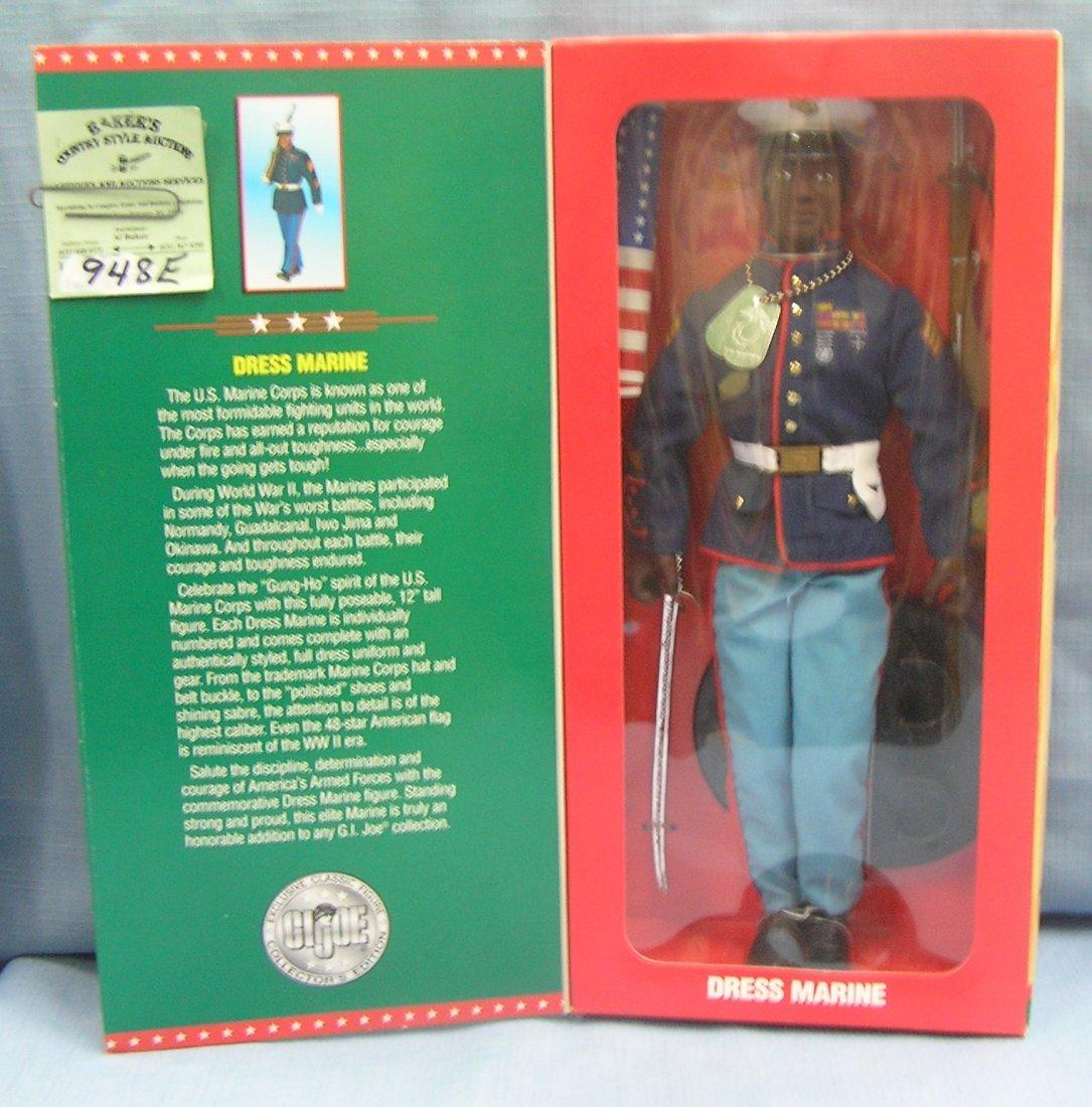 GI Joe Dress Marine black soldier action figure