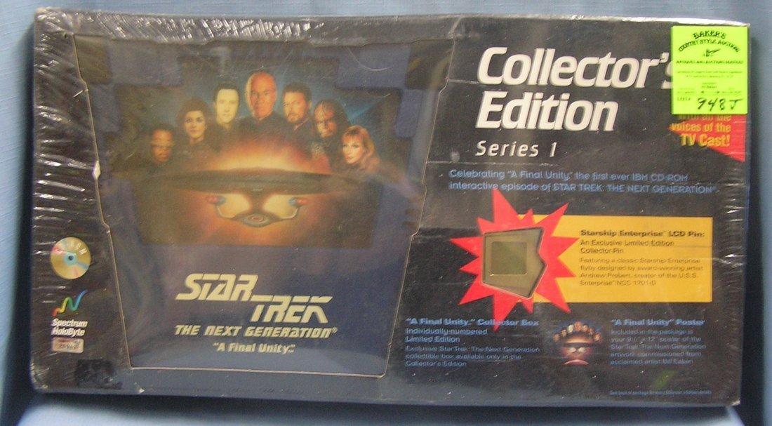 Star Trek collector's edition game set