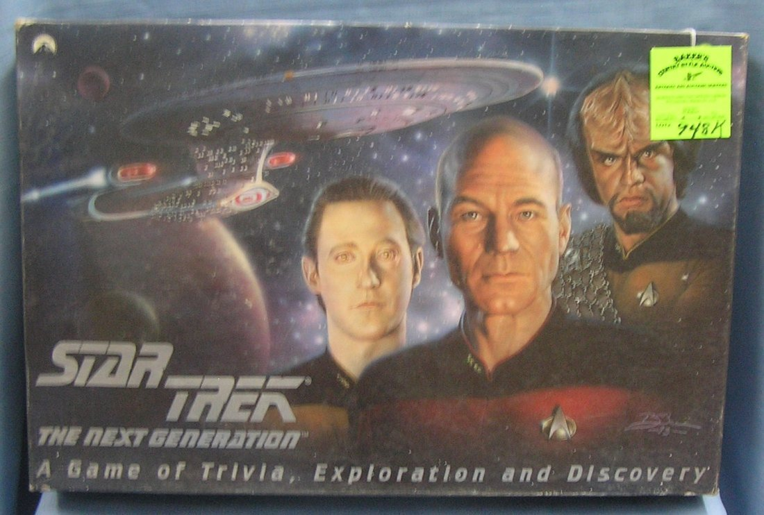 Vintage Star Trek exploration and discovery game