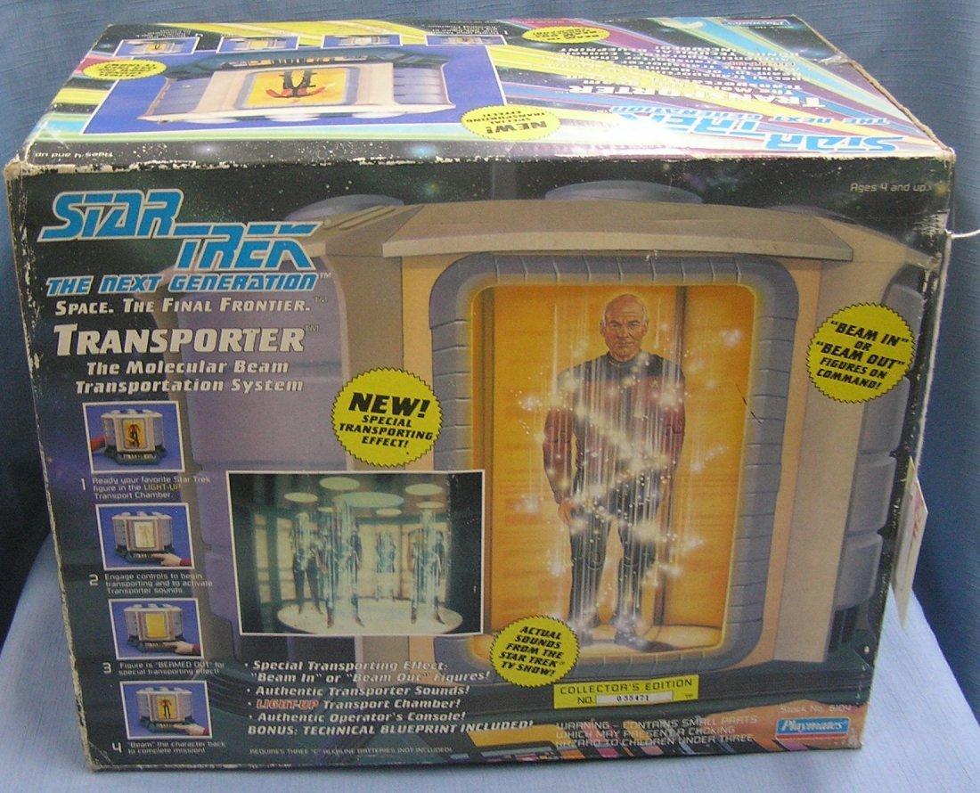 Star Trek Transporter play set